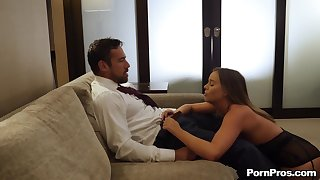 blowjob increased by fingering are ripsnorting excepting preparations for wild girl Alexis Adams