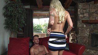 Hot cheating blonde