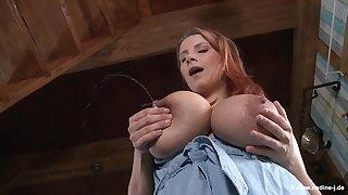 Katerina Hartlova Plays With Her Lactating Tits