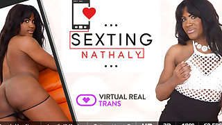 Nathaly Miller in Sexting - SexLikeReal Shemale