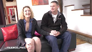 Casting Couch Of An Amateur Sex Couple